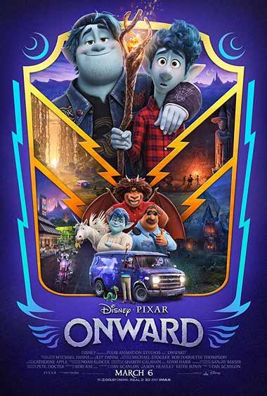 دانلود انیمیشن Onward 2020 دوبله فارسی