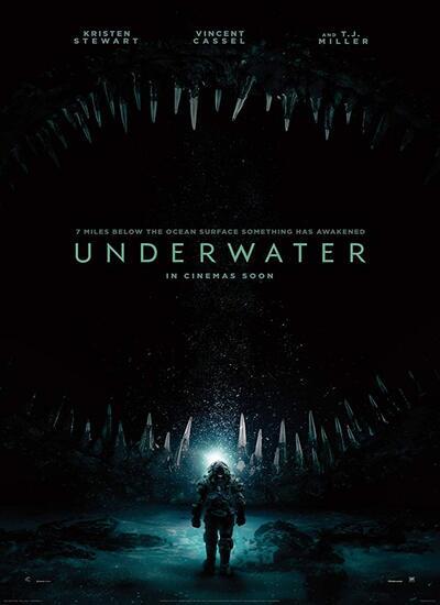 دانلود فیلم زیر آب دوبله فارسی Underwater 2020