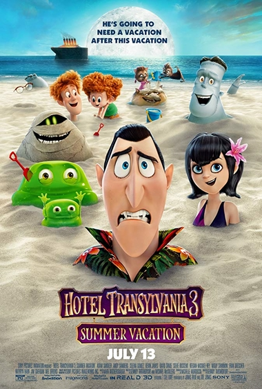 دانلود انیمیشن Hotel Transylvania 3 Summer Vacation 2018 دوبله فارسی