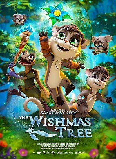 دانلود انیمیشن درخت آرزوها دوبله فارسی The Wishmas Tree 2020