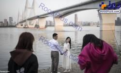 مراسم جشن عروسي در ووهان چين
