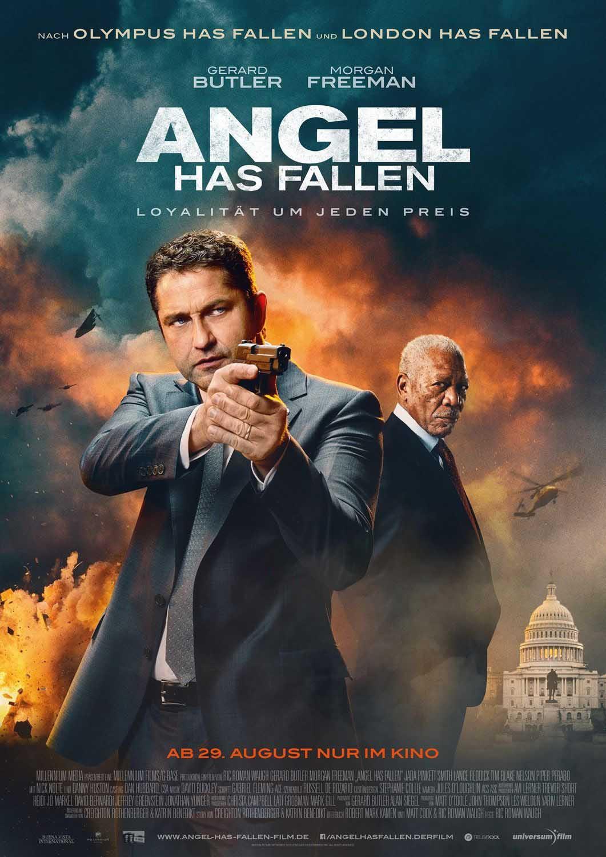 دانلود فیلم Angel has Fallen 2019 دوبله فارسی - انجل سقوط کرد