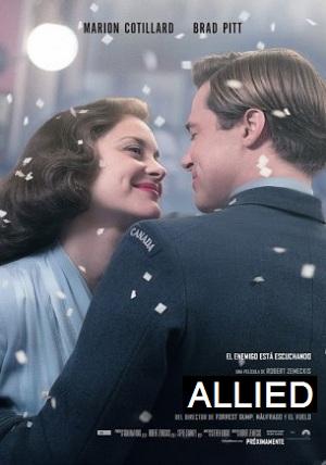 دانلود فیلم Allied 2016 دوبله فارسی - هم پیمان