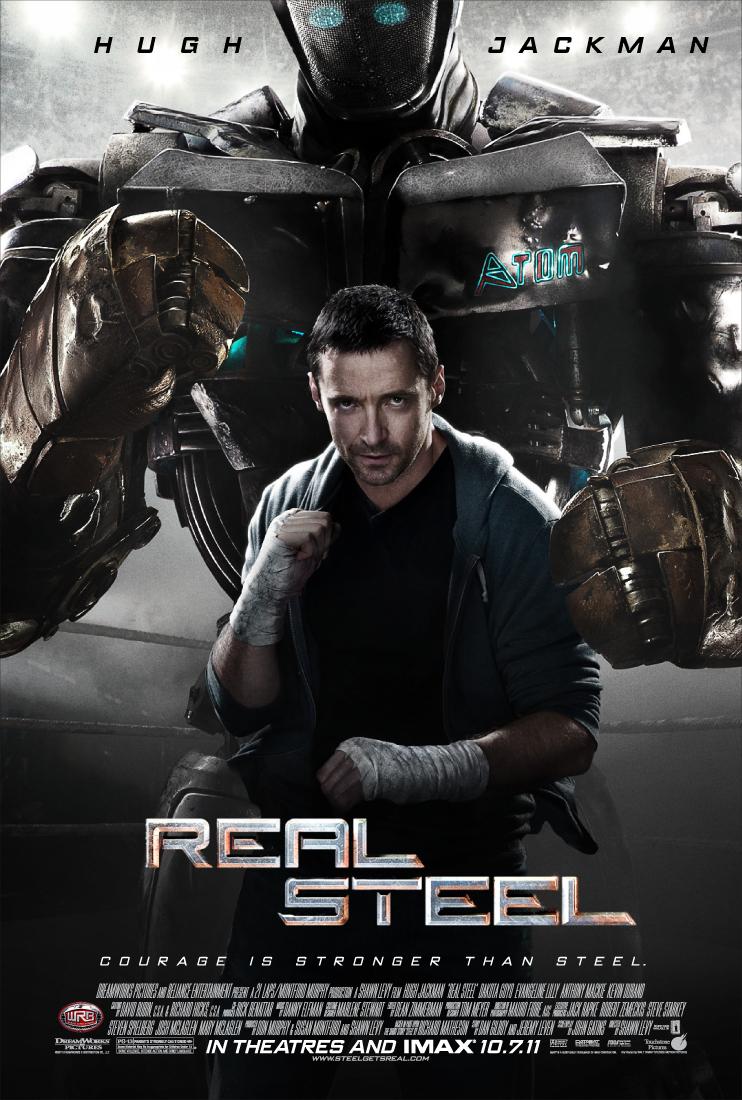 دانلود فیلم Real Steel 2011 دوبله فارسی - فولاد ناب