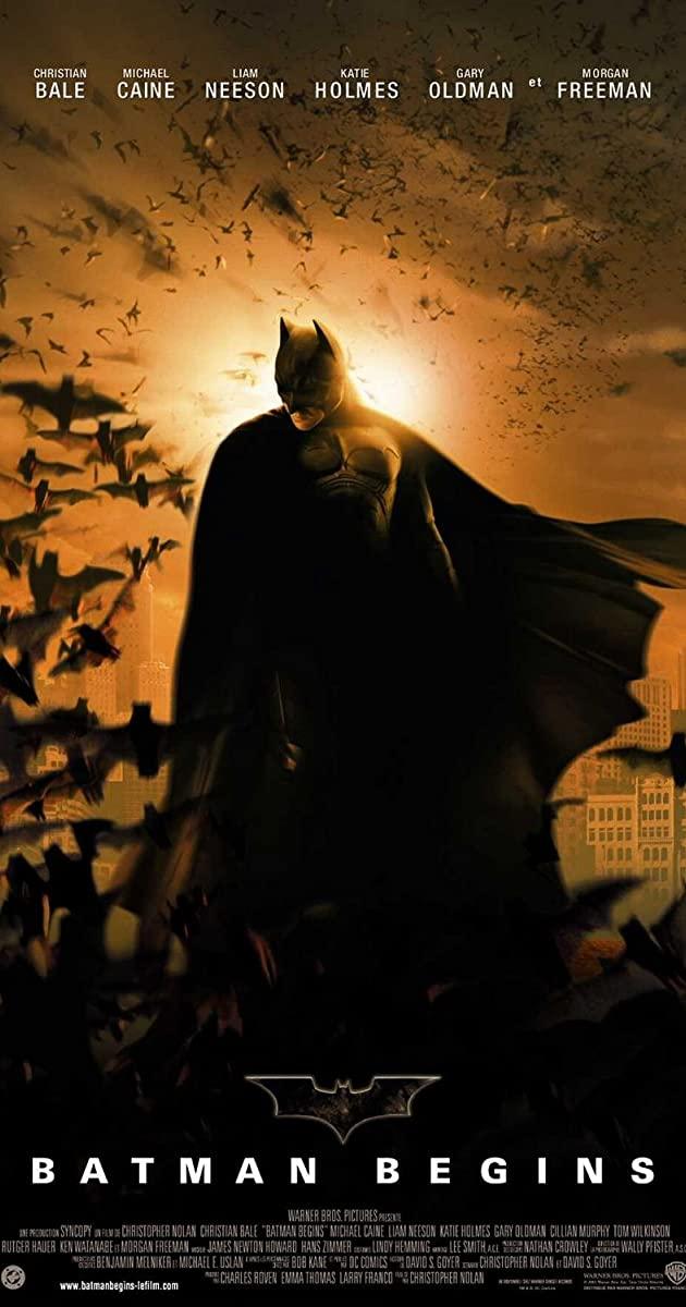 دانلود فیلم Batman Begins 2005 دوبله فارسی