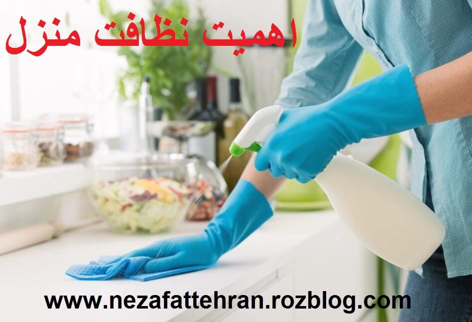 اهمیت نظافت منزل