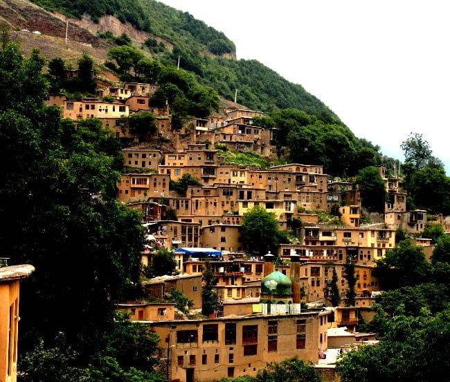 روستای وفس معروف به ماسوله استان مرکزی