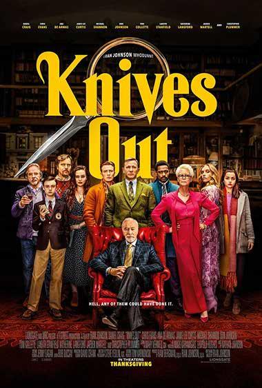 دانلود فیلم Knives Out 2019 دوبله فارسی - چاقوکشی