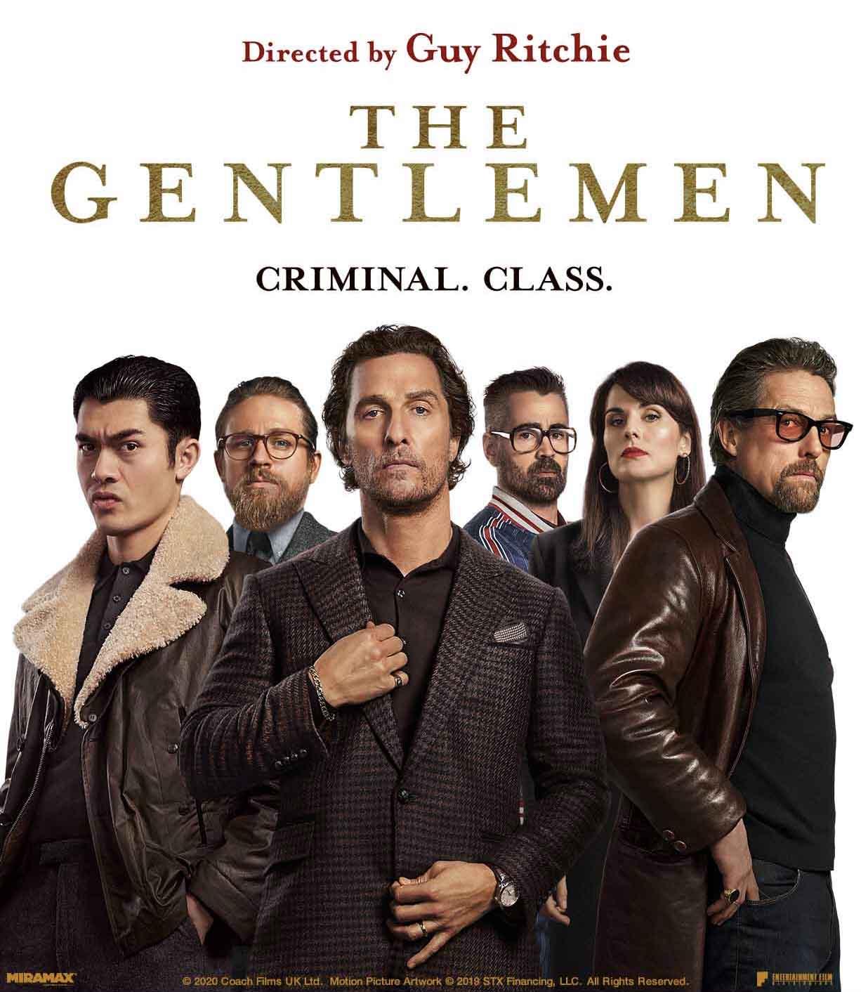 دانلود فیلم The Gentlemen 2019 دوبله فارسی -  جنتلمن ( آقایان )