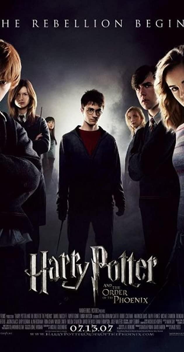 دانلود فیلم Harry Potter and the Order of the Phoenix 2007 دوبله فارسی - هری پاتر 5