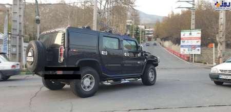خودروي چهار ميليارد توماني در خيابان هاي تهران