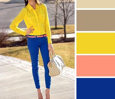 ترکیب رنگ های مناسب برای ست کردن