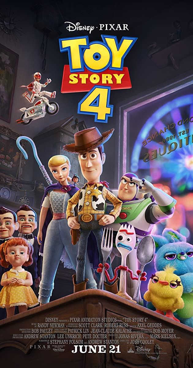 دانلود انیمیشن Toy Story 4 2019 دوبله فارسی - داستان اسباب بازی 4