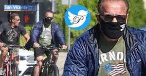 بيوگرافي آرنولد / آرنولد در حال دوچرخه سواري