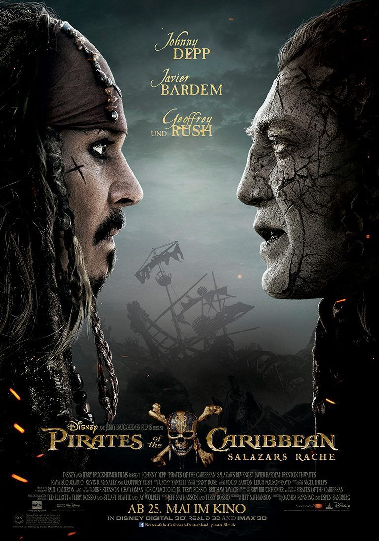 دانلود فیلم Pirates of the Caribbean Dead Men Tell No Tales 2017 دوبله فارسی