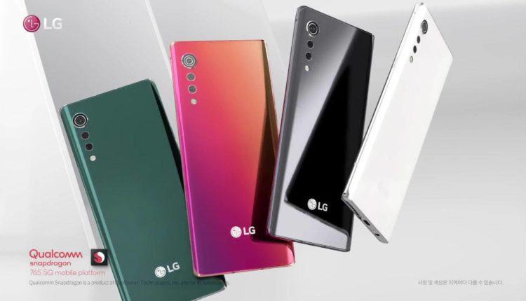مشخصات گوشی پرچمدار LG Velvet قبل از رونمایی منتشر شد