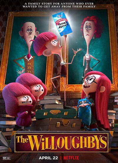 دانلود انیمیشن ویلوبی ها دوبله فارسی The Willoughbys 2020