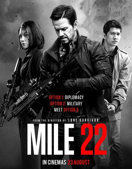 دانلود فیلم Mile 22 2018 دوبله فارسی - مایل 22