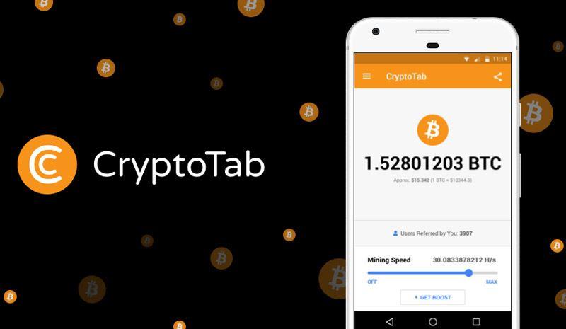 دانلود Cryptotab Browser – ماینینگ بیت کوین در مرورگر اینترنت
