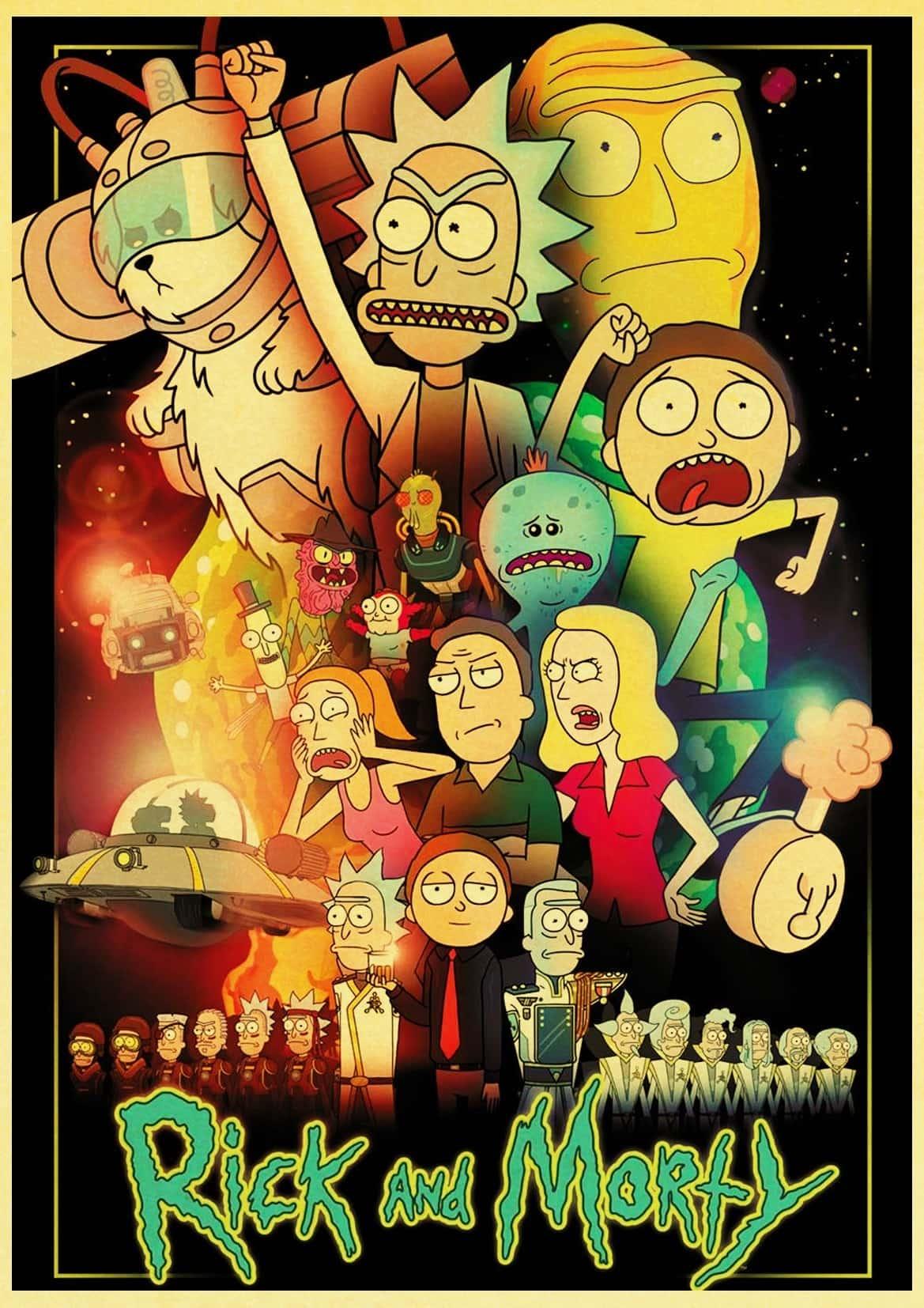 دانلود سریال Rick and Morty - ریک اند مورتی