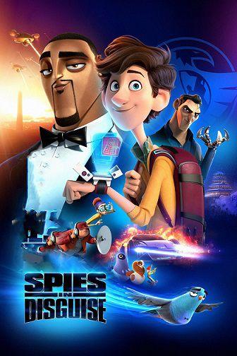 دانلود انیمیشن Spies in Disguise 2019 دوبله فارسی - جاسوسان نامحسوس