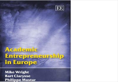 کتاب انگلیسی Academic Entrepreneurship in Europe