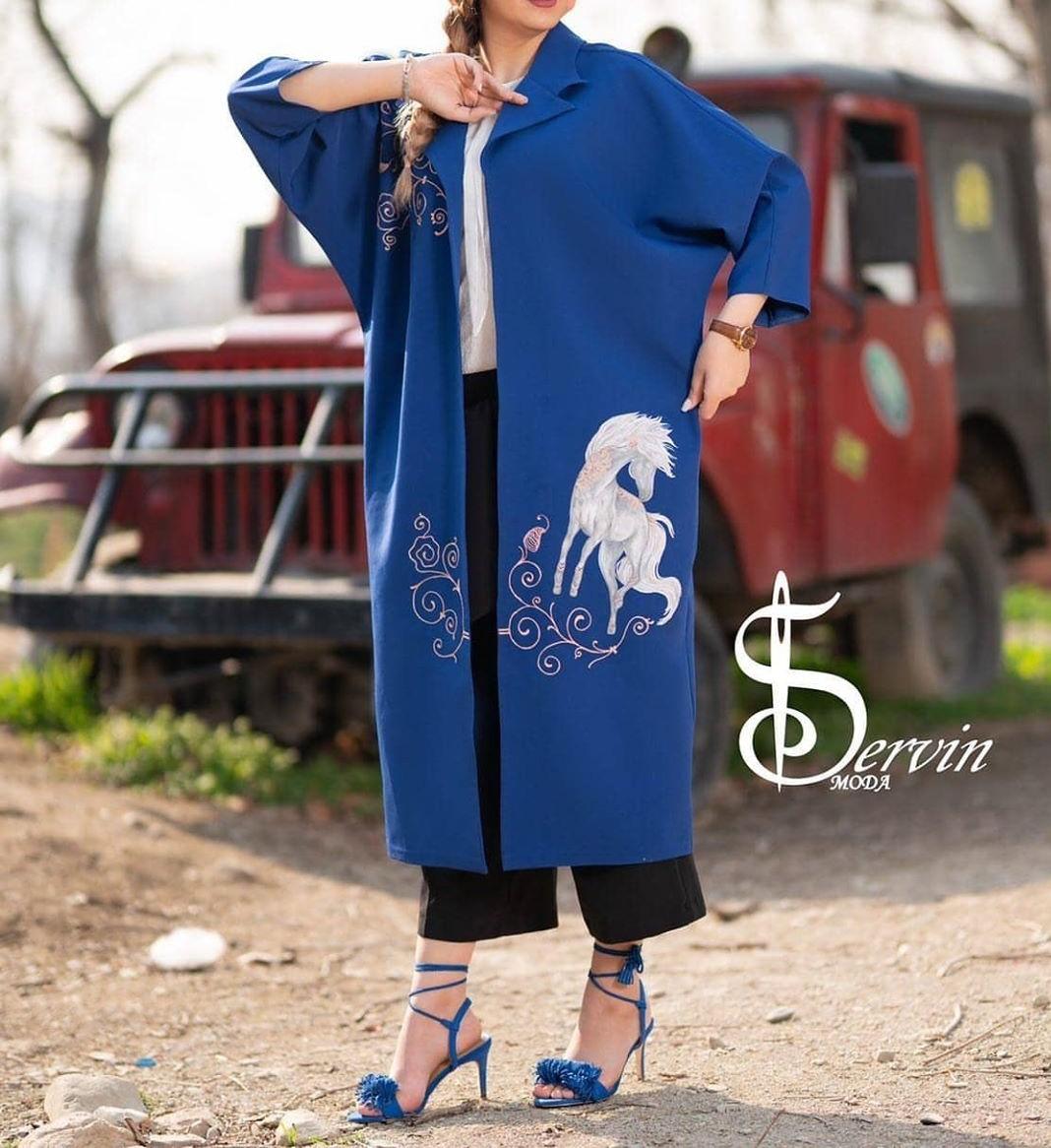 مدل مانتو جلو باز اسپرت دخترانه در تهران