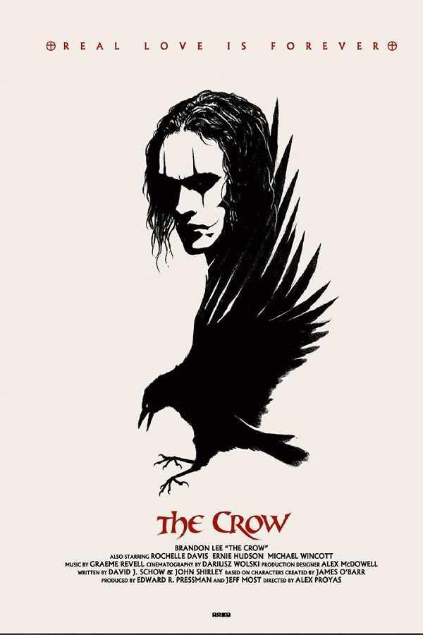 دانلود فیلم The Crow 1994 - کلاغ