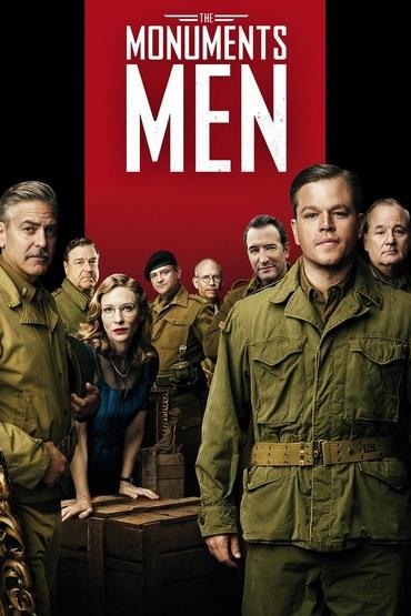 دانلود فیلم The Monuments Men 2014 دوبله فارسی - مردان تاریخی