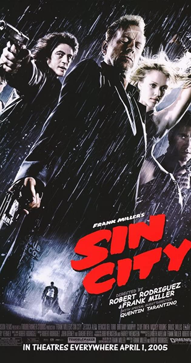 دانلود فیلم Sin City 2005 - شهر گناه 1