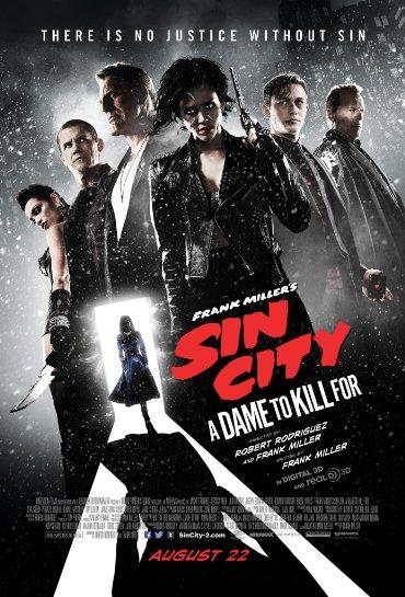 دانلود فیلم Sin City: A Dame to Kill For 2014 - شهر گناه 2