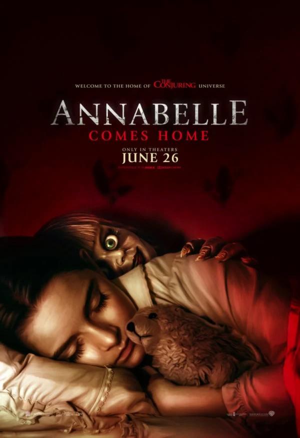 دانلود فیلم Annabelle Comes Home 2019 دوبله فارسی - آنابل 3