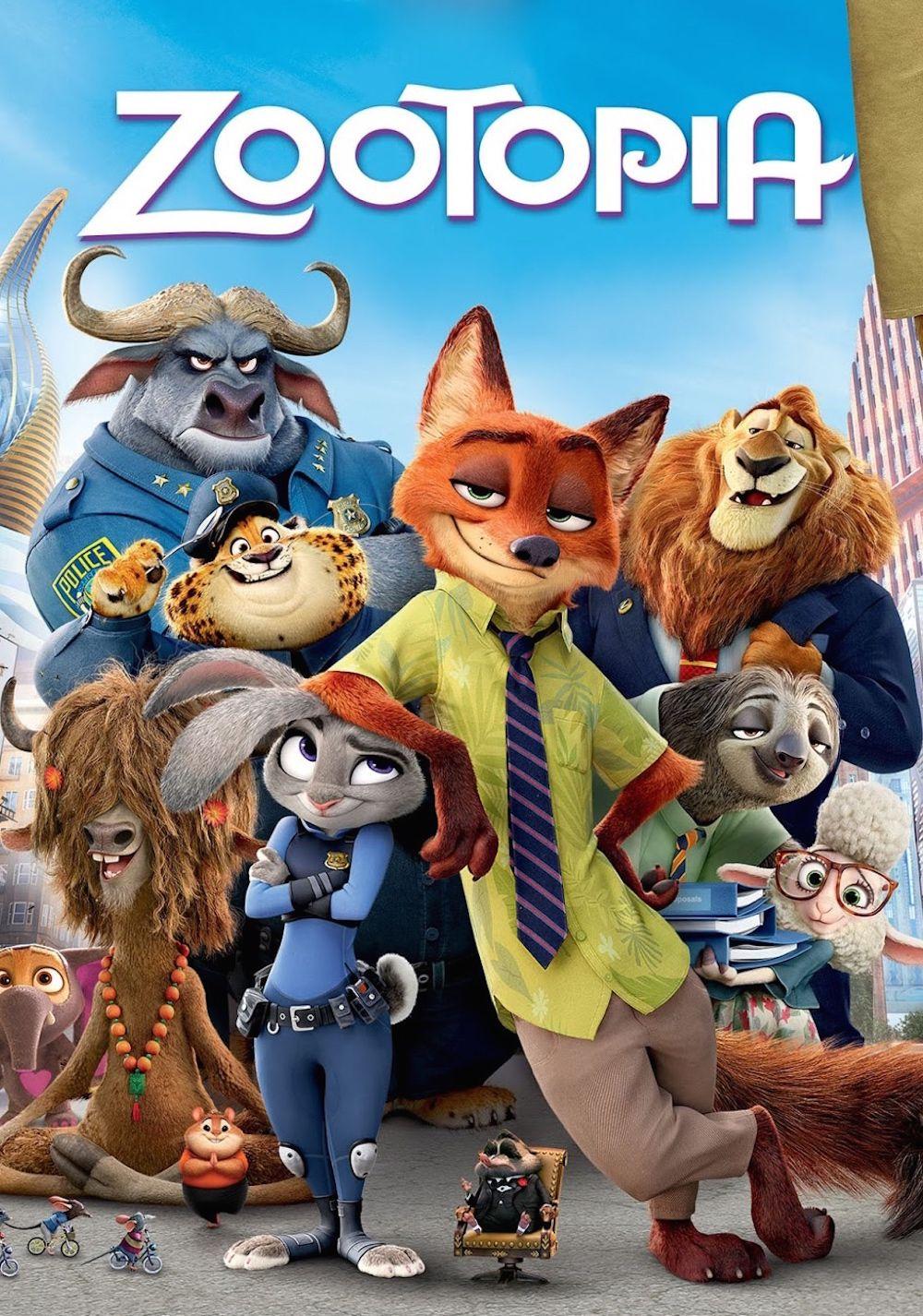دانلود انیمیشن Zootopia 2016 دوبله فارسی - زوتوپیا