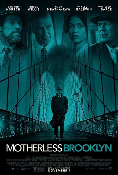 دانلود فیلم Motherless Brooklyn 2019 - بروکلین بی مادر