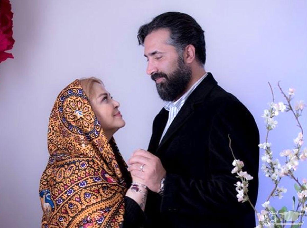 واکنش همسر بانوی بازیگر پرحاشیه ایرانی به قضاوت های مردم +عکس