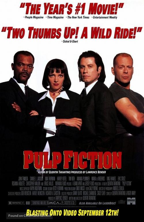 دانلود فیلم Pulp Fiction 1994 دوبله فارسی - پالپ فیکشن