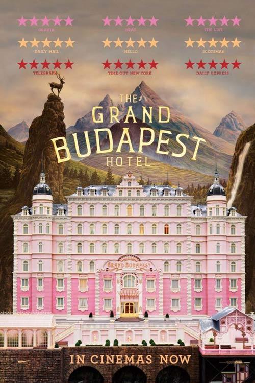 دانلود فیلم The Grand Budapest Hotel 2014 دوبله فارسی - هتل بزرگ بوداپست