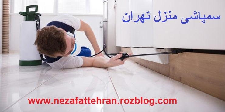 سمپاشی منزل تهران