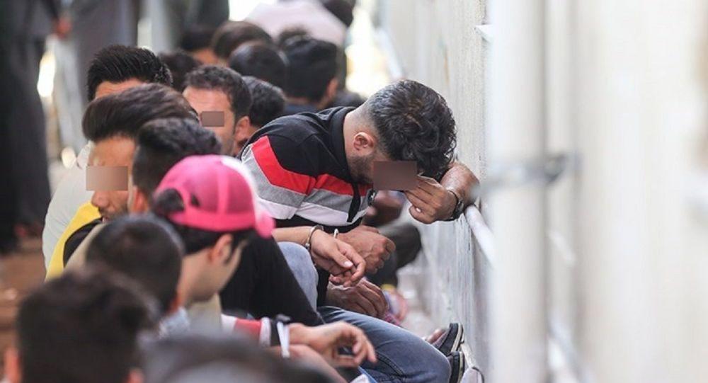 جمع آوری معتادان متجاهر در تهران