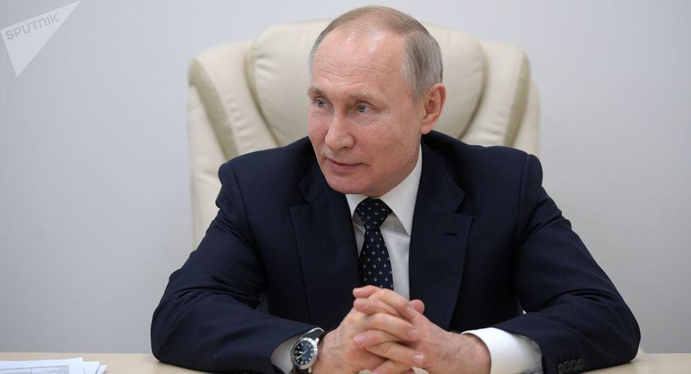 پوتین: تعطیلات طولانی در روسیه برای افزایش آمادگی سیستم بهداشتی مفید بود