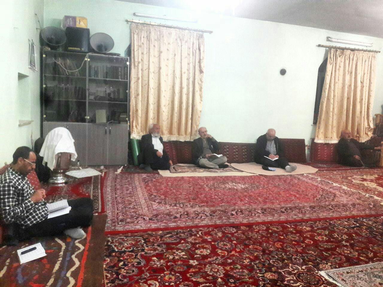 برگزاری مراسم شب های قدر در نسن