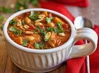 طرز تهيه سوپ بادام زميني