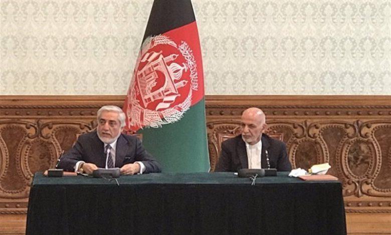 افغانستان| توافق سیاسی «اشرف غنی» و «عبدالله» امضا شد