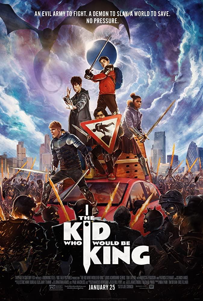 دانلود فیلم The Kid Who Would Be King 2019 دوبله فارسی - پسری که پاشاه خواهد شد
