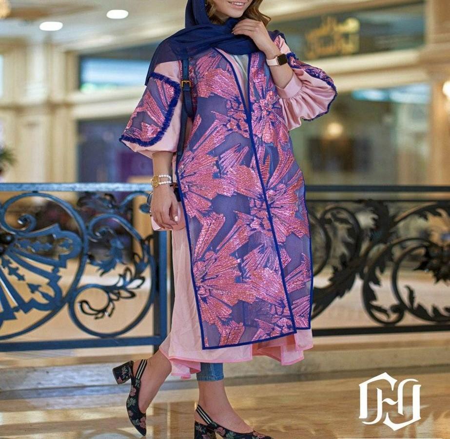 مدل مانتو مجلسی دخترانه زنانه 99