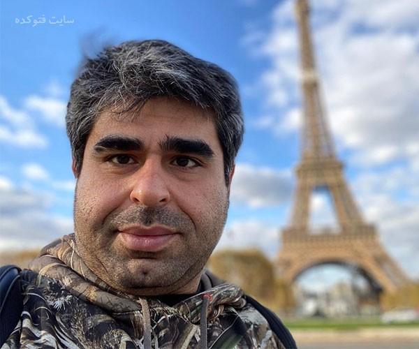خالکوبی عجیب بازیگر ایرانی