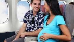مسافرت هوايي براي زنان باردار