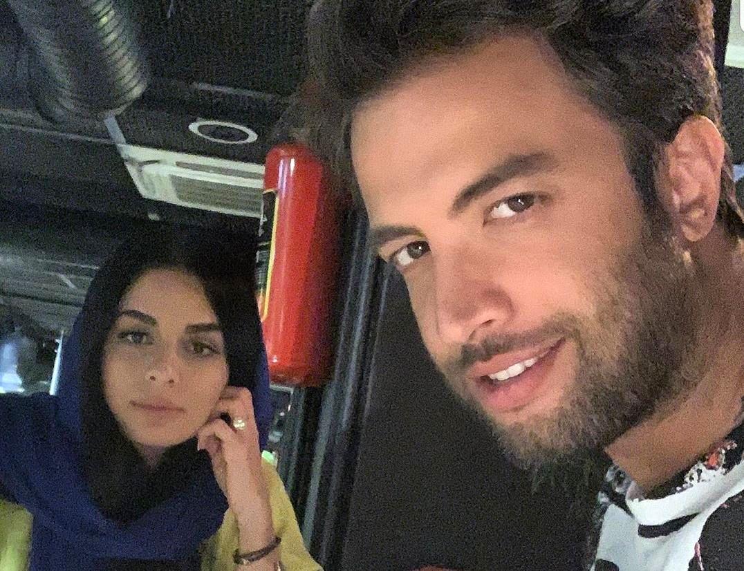 ابراز علاقه خواننده محبوب به همسرش در لایو اینستاگرام