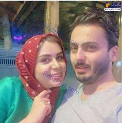 عکس دو نفره نجمه جودوکي با همسرش