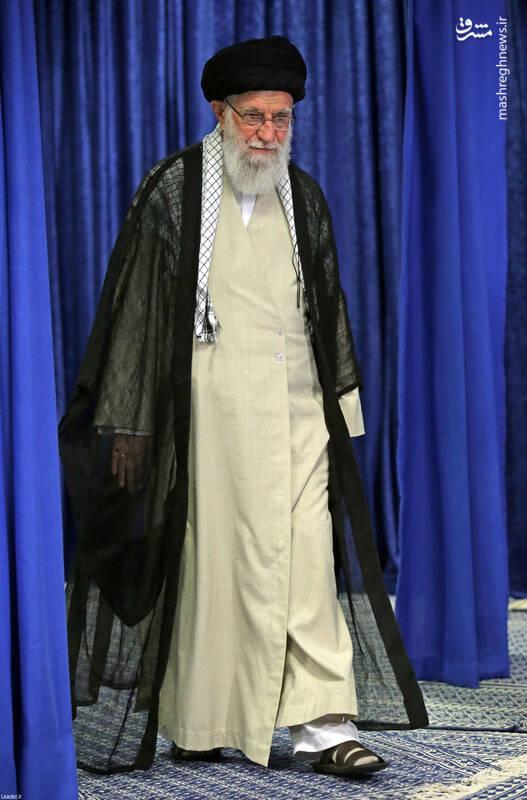 عکس/ سخنرانی رهبر انقلاب به مناسبت رحلت امام خمینی(ره)
